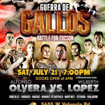 Battle For Tucson Casiono Del Sol Boxing
