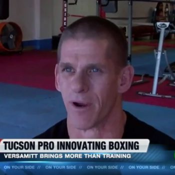 Brad Carlton on Tucson KGUN9 Talking About Versamitt & Neutral Corner Gym