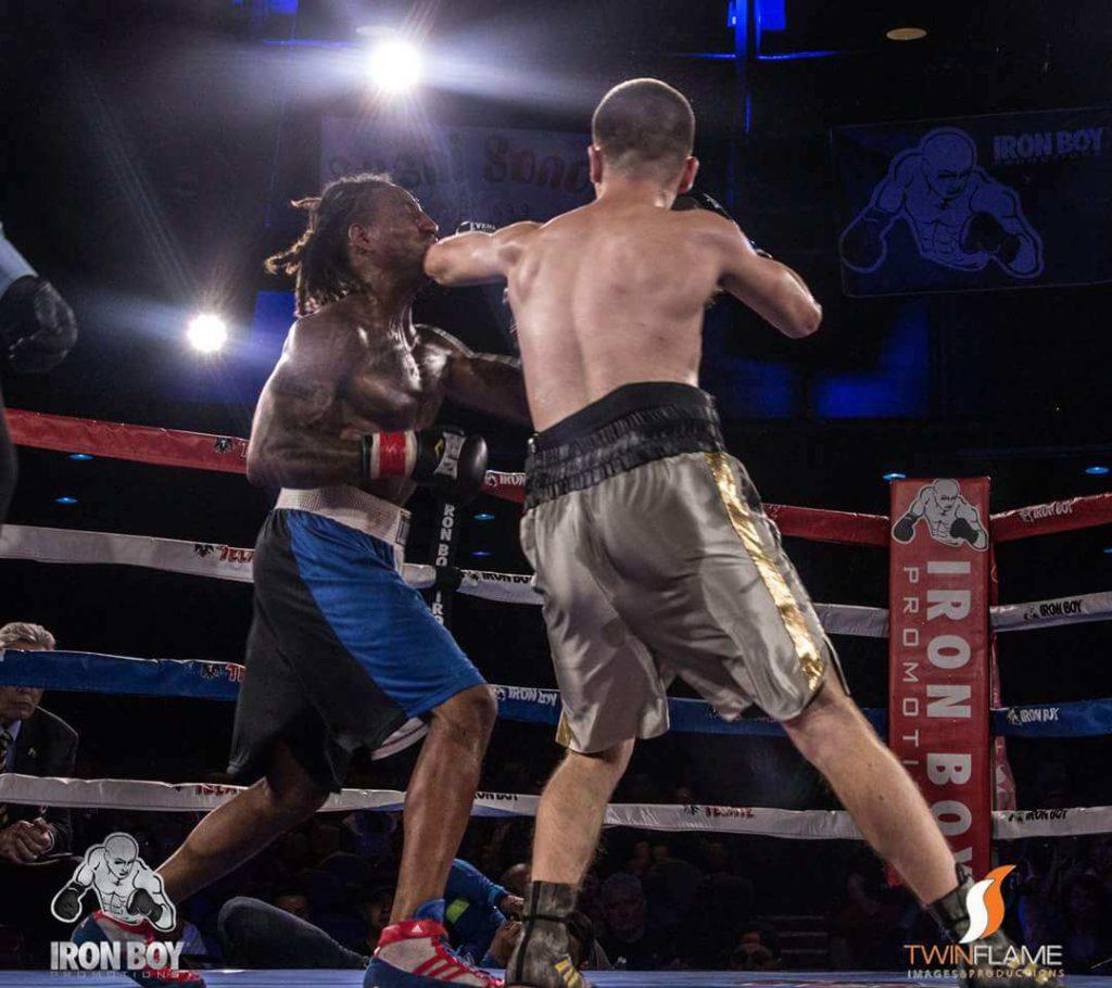 Guero Gonzalez IronBoy Fighting at Iron Boy