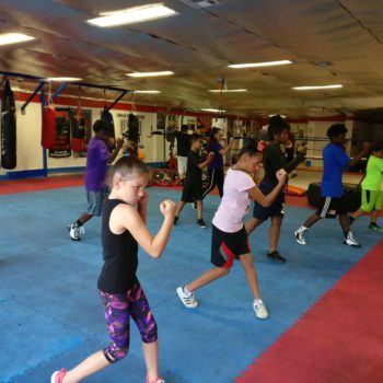 Neutral Corner Gym Youth Class Boxing Stance