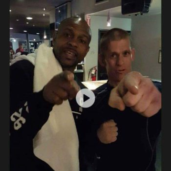 Brad With Boxer